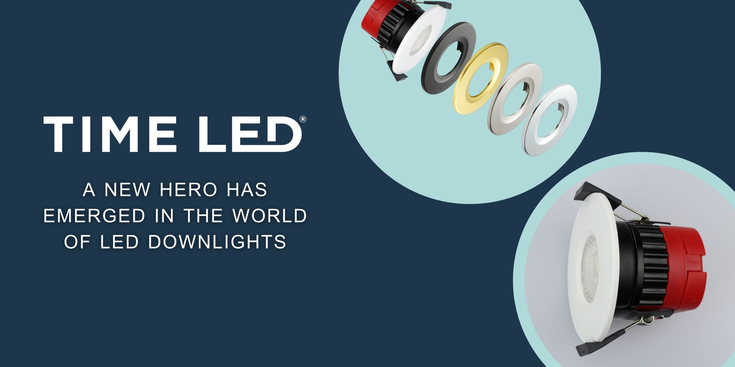 TIME LED New hero of a downlight
